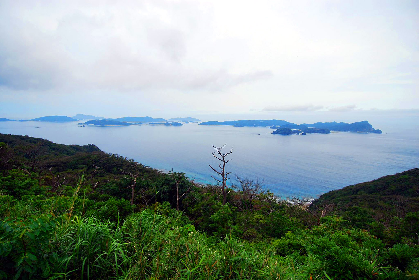 Kerama Islands from Fukaji Island