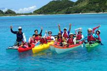 Kayaking Zamami island